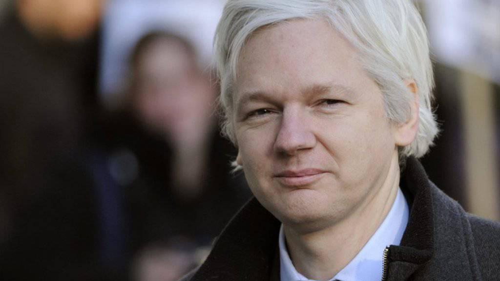 Fürchtet sich vor einem Anschlag auf seine Person: Wikileaks-Gründer Julian Assange, hier in einer Aufnahme aus dem Jahr 2012 (Archiv)