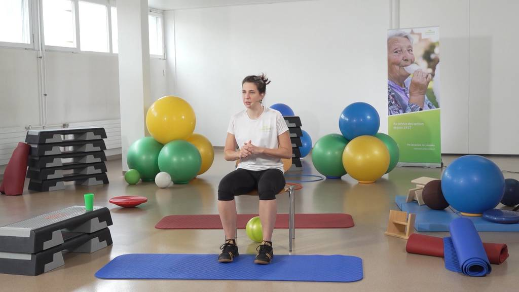 «Gymnastik im Wohnzimmer» vom 3. Juni 2021