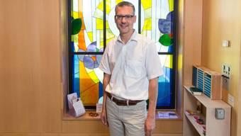 Michael Jablonowski ist in Bergdietikon als katholischer Pfarreiseelsorger tätig