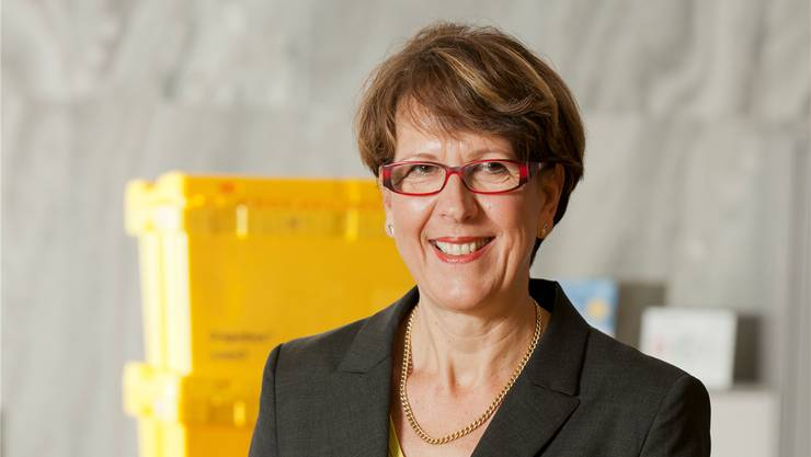 Susanne Ruoff steht der Post seit 2012 vor.
