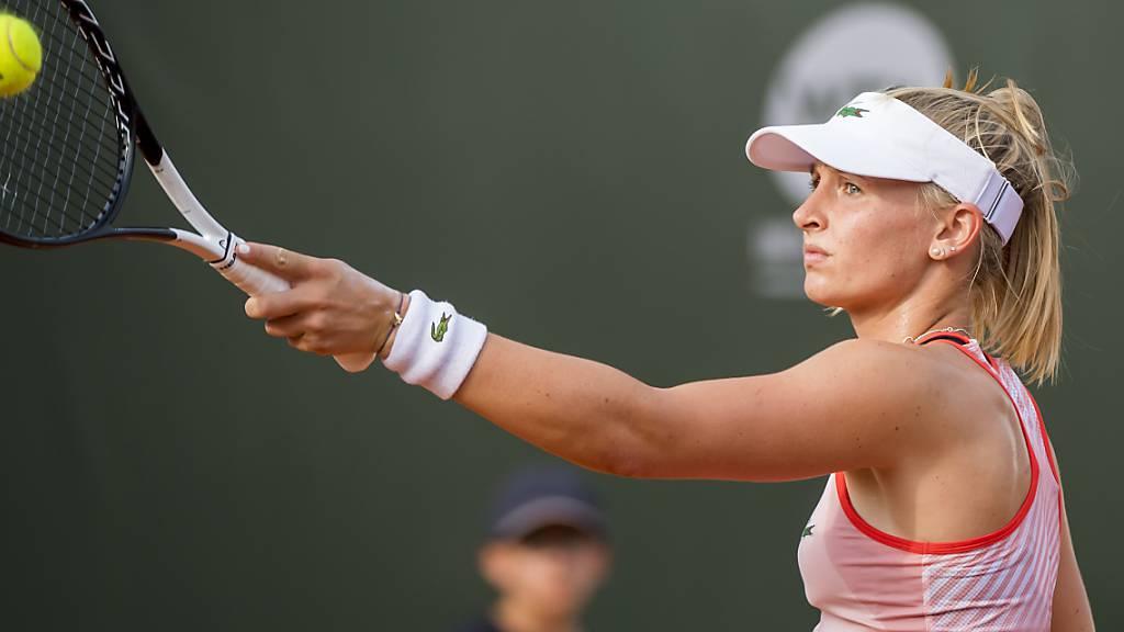 Jil Teichmann startet in Auckland mit einem Sieg ins Tennisjahr 2020.