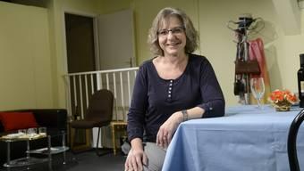 Louise Culmone auf der Schopfbühne. Sie war schon vor 25 Jahren bei der Gründung dabei.