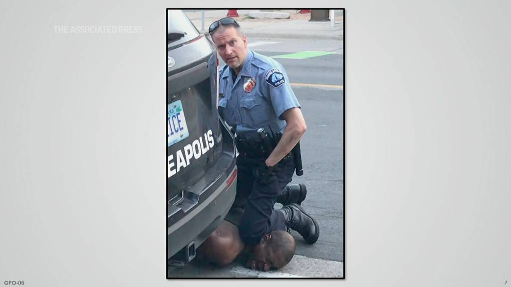 Er drückte sein Knie neun Minuten auf Floyds Hals: Ex-Polizist Chauvin der Tötung schuldig gesprochen