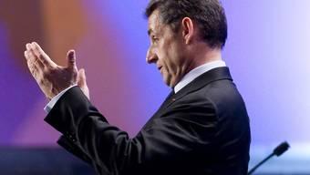 Der französische Präsident Nicolas Sarkozy (Archiv)