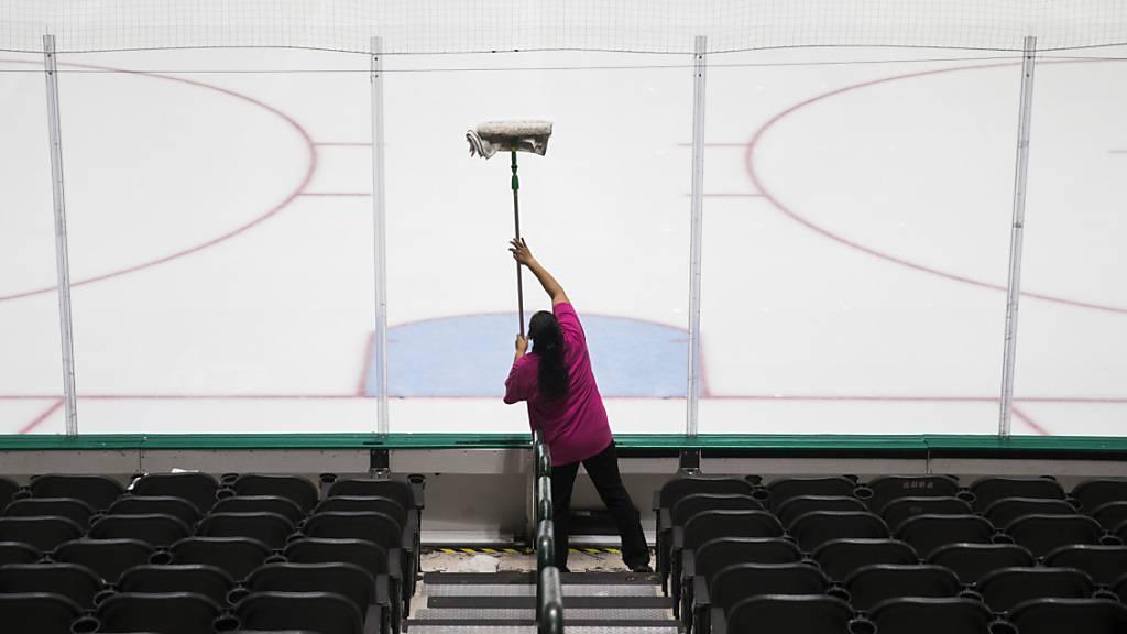 NHL-Draft auf unbestimmte Zeit verschoben