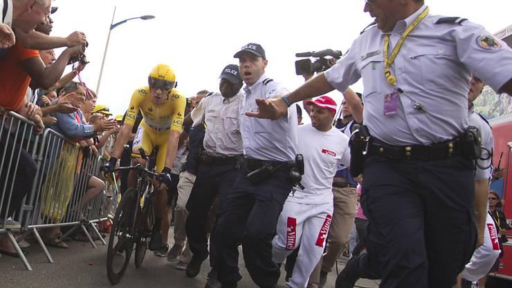 Der Tross der Tour de France wird in diesem Jahr von Spezialeinheiten geschützt