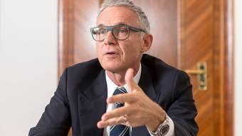 Tritt auf die Generalversammlung vom 30. April 2021 zurück: Urs Rohner,  Verwaltungsratspräsident der Credit Suisse.