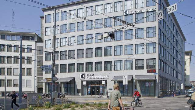 Die Basler Kantonalbank BKB in Basel.