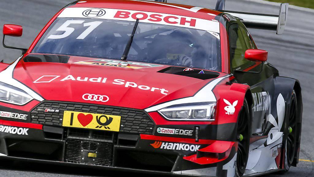 Zweiter DTM-Saisonsieg von Nico Müller