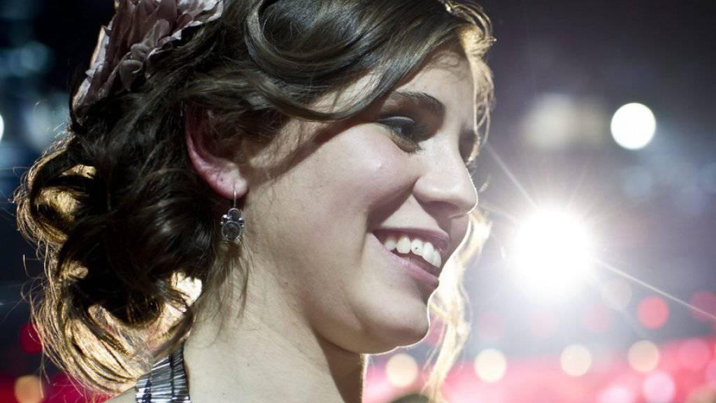 """Als Sängerin mag Eliane Müller langsame Balladen: In ihrer Freizeit wird die Gewinnerin der SRF-Show """"Die grössten Schweizer Talente 2012"""" ziemlich schnell nervös, wenn es zu ruhig wird. (Archivbild)"""