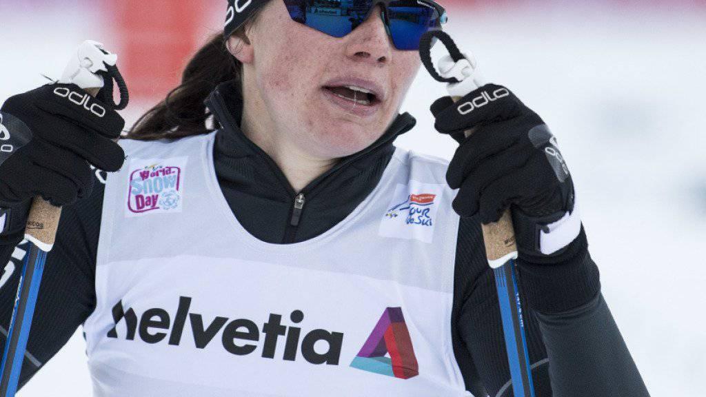 Nathalie von Siebenthal lieferte eine weitere starke Leistung ab
