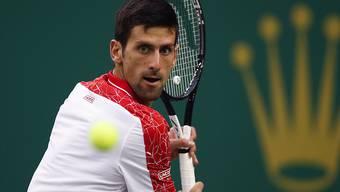 Novak Djokovic zeigt im Final von Schanghai erneut eine tadellose Leistung