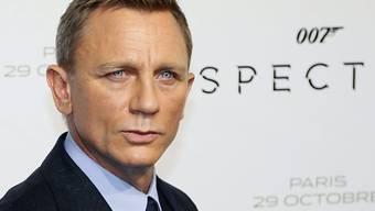 """War """"Spectre"""" womöglich doch nicht Daniel Craigs letzter Bond-film? (Archivbild)"""