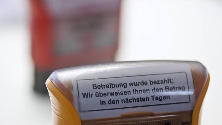 Ein kantonales Betreibungsregister soll her (Symbolbild).