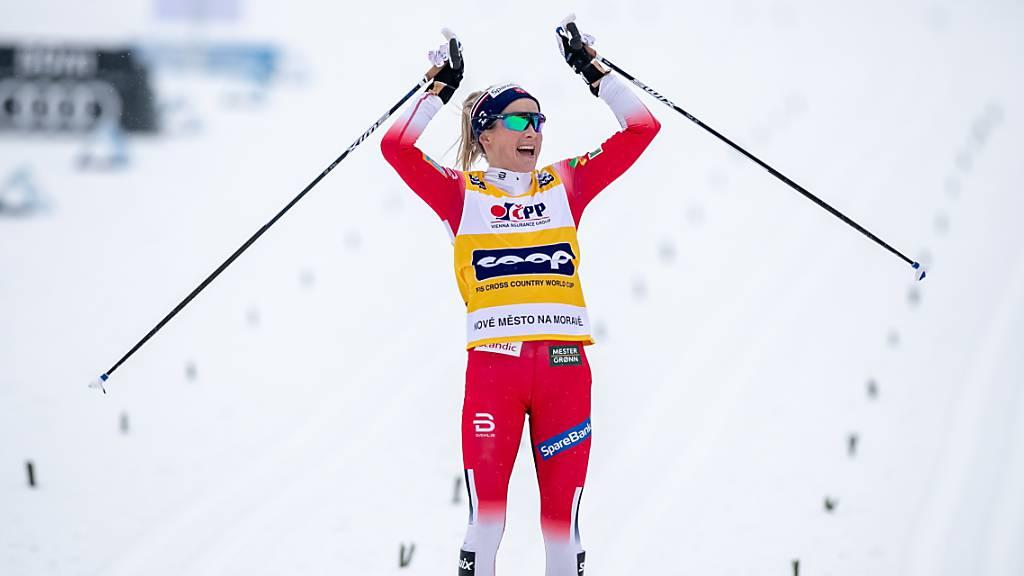 Sechsfacher Norweger-Triumph, Cologna Zehnter