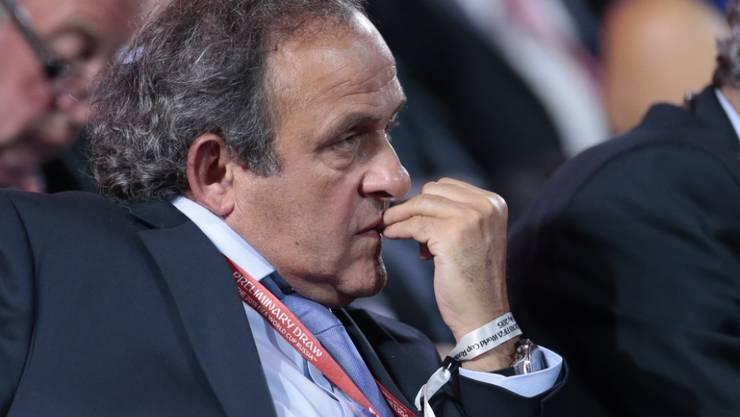 Michel Platini legt Einspruch beim CAS ein
