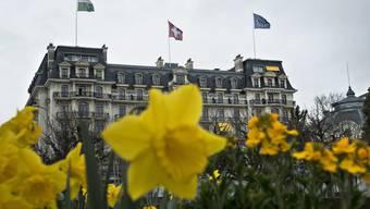 Ort der Verhandlungen: Das Beau Rivage Hotel in Lausanne.