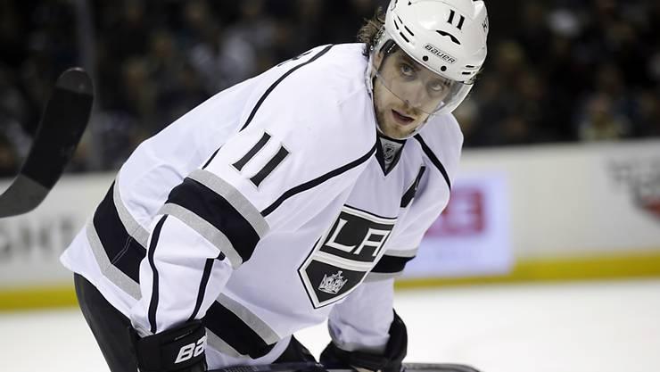 Anze Kopitar, der Sohn des künftigen Red-Ice-Trainers Matjaz Kopitar, spielt seit zehn Jahren mit den Los Angeles Kings in der NHL