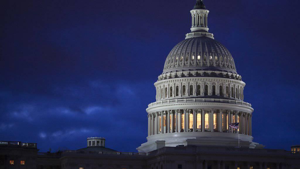 Republikaner und Demokraten im US-Kongress einigen sich auf einen Kompromiss zum Haushaltsgesetz. (Symbolbild)