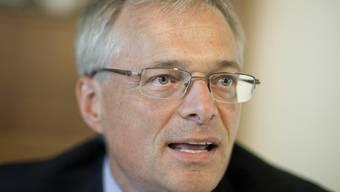 Er hatte die Abzocker-Initiative vor sechseinhalb Jahren initiiert: Thomas Minder (Archiv)