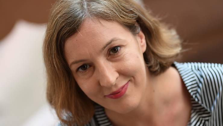 Die Autorin Inger-Maria Mahlke ist mit dem Deutschen Buchpreis 2018 ausgezeichnet worden.