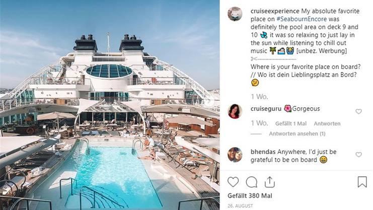 Dario Cremona (19), @cruiseexperience/, www.cruise-experience.com, Follower: 24 500, Rang: 38