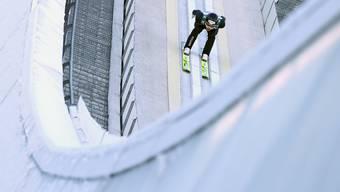 Gregor Deschwanden (29) kommt beim Neujahrsspringen in Garmisch-Partenkirchen auf den 19. Platz.