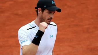 Beste Leistung seit langem: Andy Murray erreichte die Achtelfinal von Roland Garros