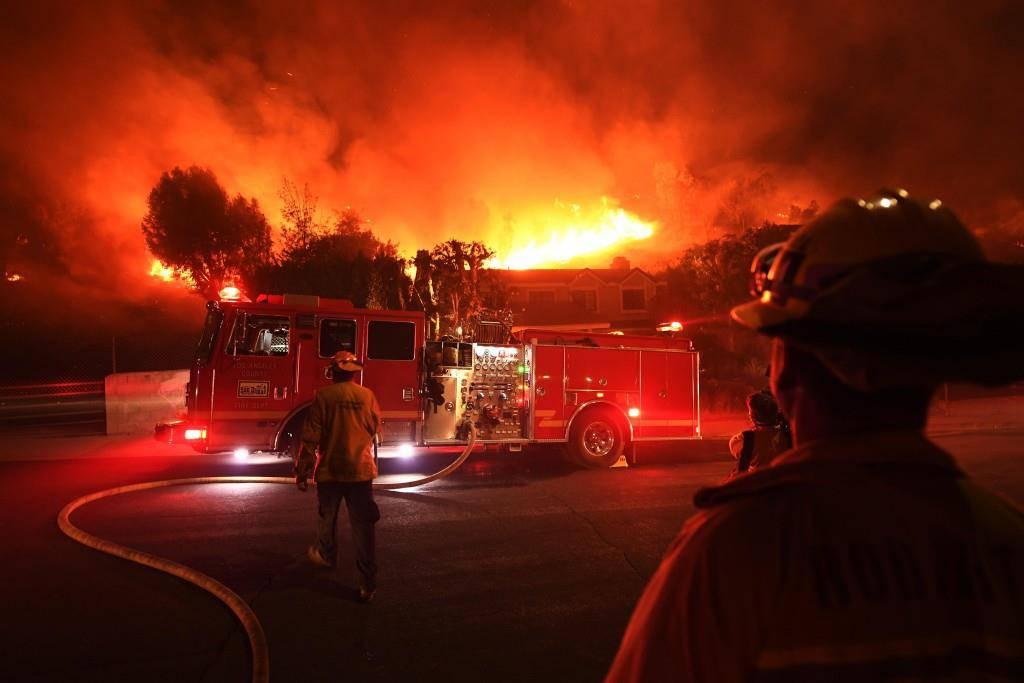 Verheerende Brände in Kalifornien (© Getty Images)