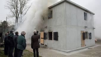 Brandhaus Christina eingeweiht