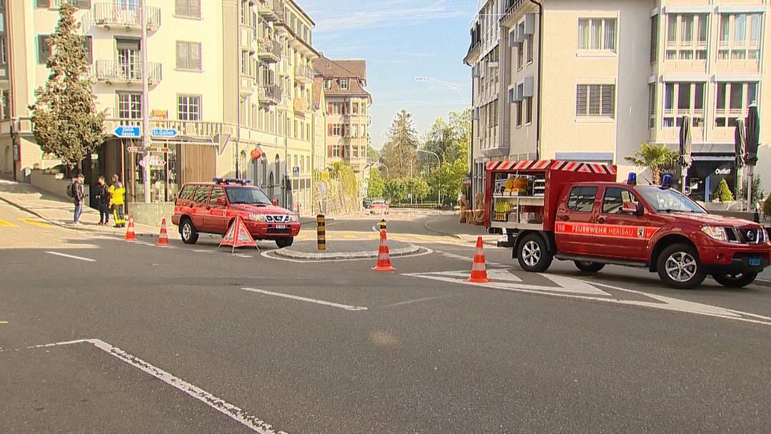 Bahnhofstrasse in Herisau nach Drohung gesperrt