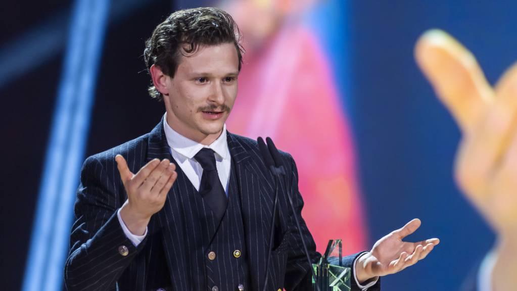 Der Schweizer Schauspieler Joel Basman wurde just zu seinem 30. Geburtstag in der Kategorie bester Darsteller im Spielfilm «Der Büezer» für einen Filmpreis 2020 nominiert - nachdem er bereits 2019 einen Quarz für seine Rolle in «Wolkenbruch» erhalten hatte. (Archivbild)