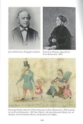 Eine Seite aus Jonas Breitenstein, Band 3, «Geschichten und Dichtungen».
