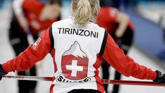 Skip Silvana Tirinzoni zeigt an den Europameisterschaften in Tallinn einen überzeugenden Auftritt nach dem andern