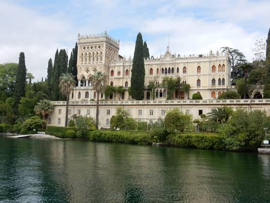 Schloss auf der Isola del Garda
