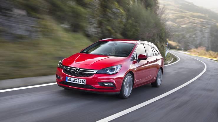 Opel Astra Sports Tourer.