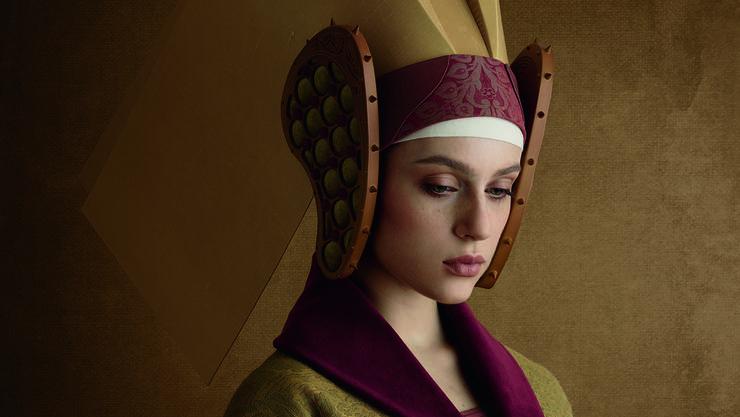 Christian Tagliavini: «Moglie dell'orefice» («Die Frau des Goldschmieds») von 2017 ist eine Reverenz an die Renaissance.