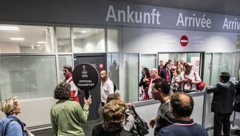 Am 18. und 19. Mai 2016 gab es am Euro-Airport pro Tag gut 30'000 Passagiere, die ankamen und abflogen.