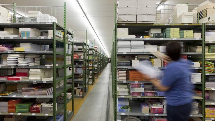 Das Buchzentrum in Hägendorf führt über 80000 Titel, die in Deutschland nicht erhältlich sind.