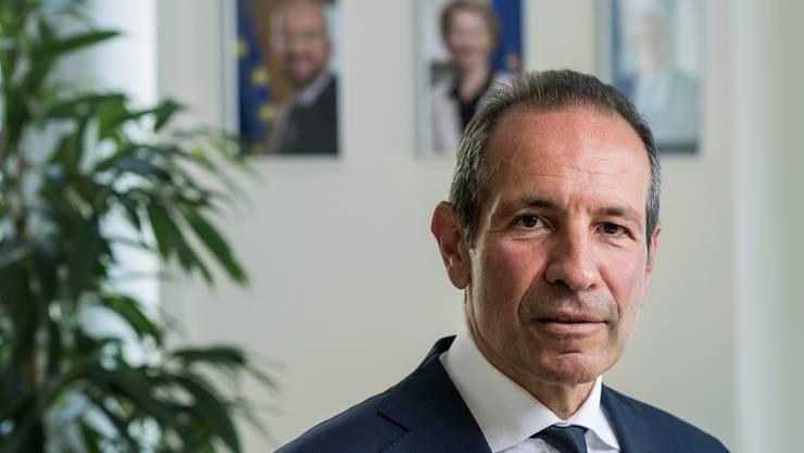 Bundesrat soll Gelegenheit jetzt nutzen: EU-Botschafter Petros Mavromichalis möchte beim Rahmenabkommen Fortschritte sehen.