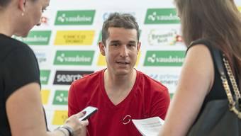 Der Schweizer Radprofi Claudio Imhof startet als einer der Leader des Schweizer Nationalteams erstmals zur Tour de Suisse