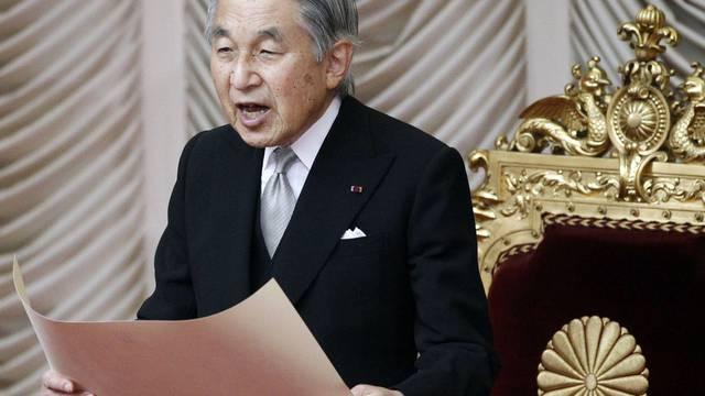 Der japanische Kaiser Akihito ist erkrankt (Archiv)