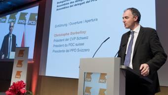CVP-Präsident Darbellay verteidigte Pauschalbesteuerung