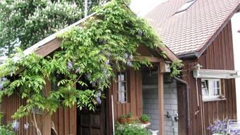 Bis Ende Oktober muss das Gartenhaus neben der Besenbeiz abgerissen werden.zvg