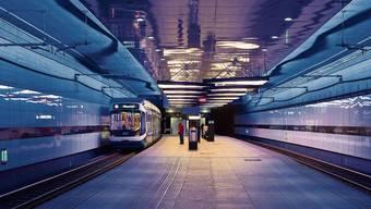 Die neue Linie wäre teilweise unterirdisch – wie heute schon die Trams 7/9 in Schwamendingen.