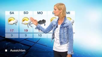Das Tele-M1-Wetter vom Donnerstag, 23. April.