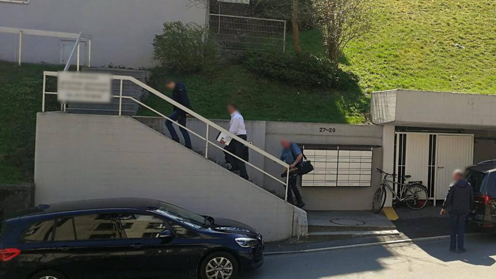 Die Polizei war in zivil vor Ort. (© Leserreporterin FM1Today)