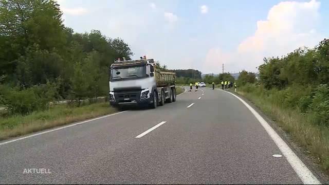 Unfall bei Rheinfelden fordert Todesopfer