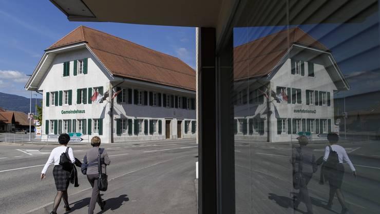 Das Gemeindehaus von Deitingen: Die Gemeinde steht finanziell schlecht da.
