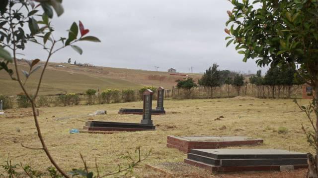 Umstrittenes Familiengrab der Mandelas in Qunu (Archiv)